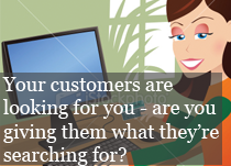 Reach more customers through your website.