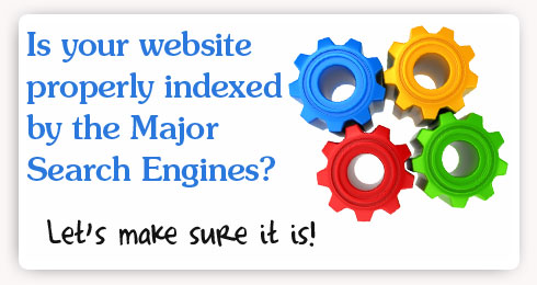 Properly index your website with the major search engines.